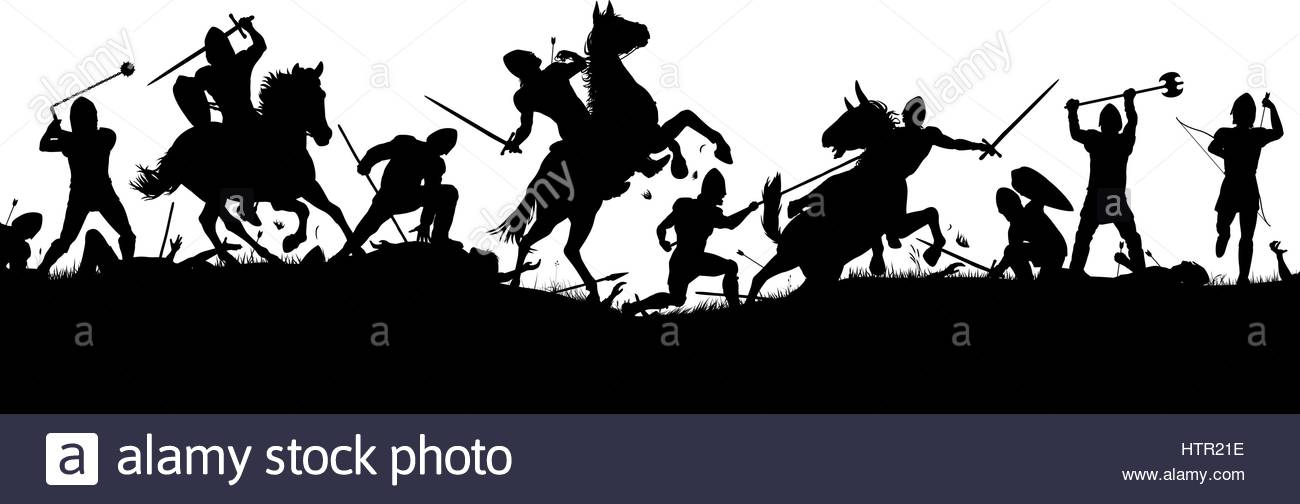 svg transparent library Battle . Wars clipart medieval army