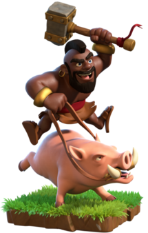 clipart library stock Hog Rider