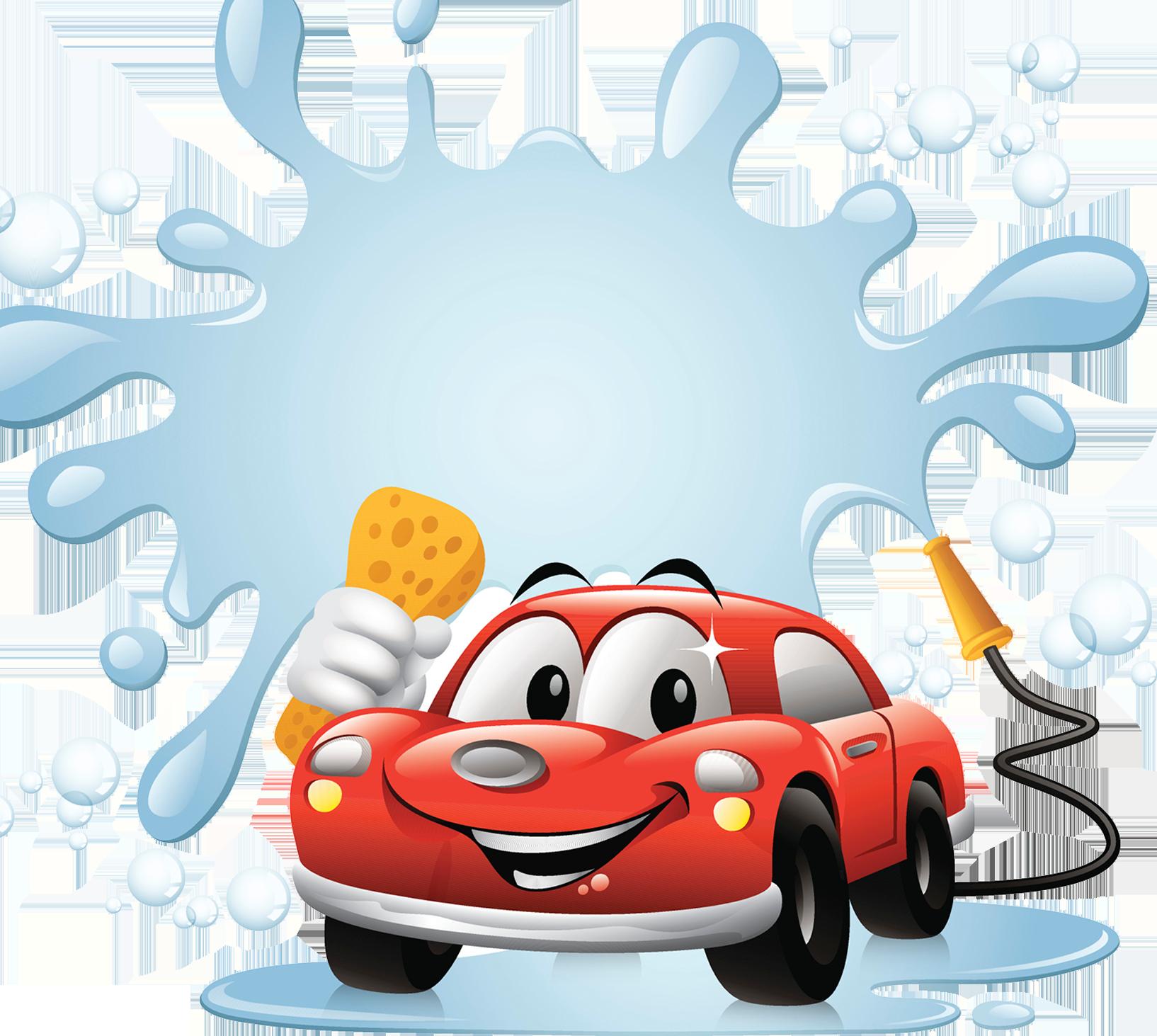 banner download Car clip art cartoon. Wash clipart.