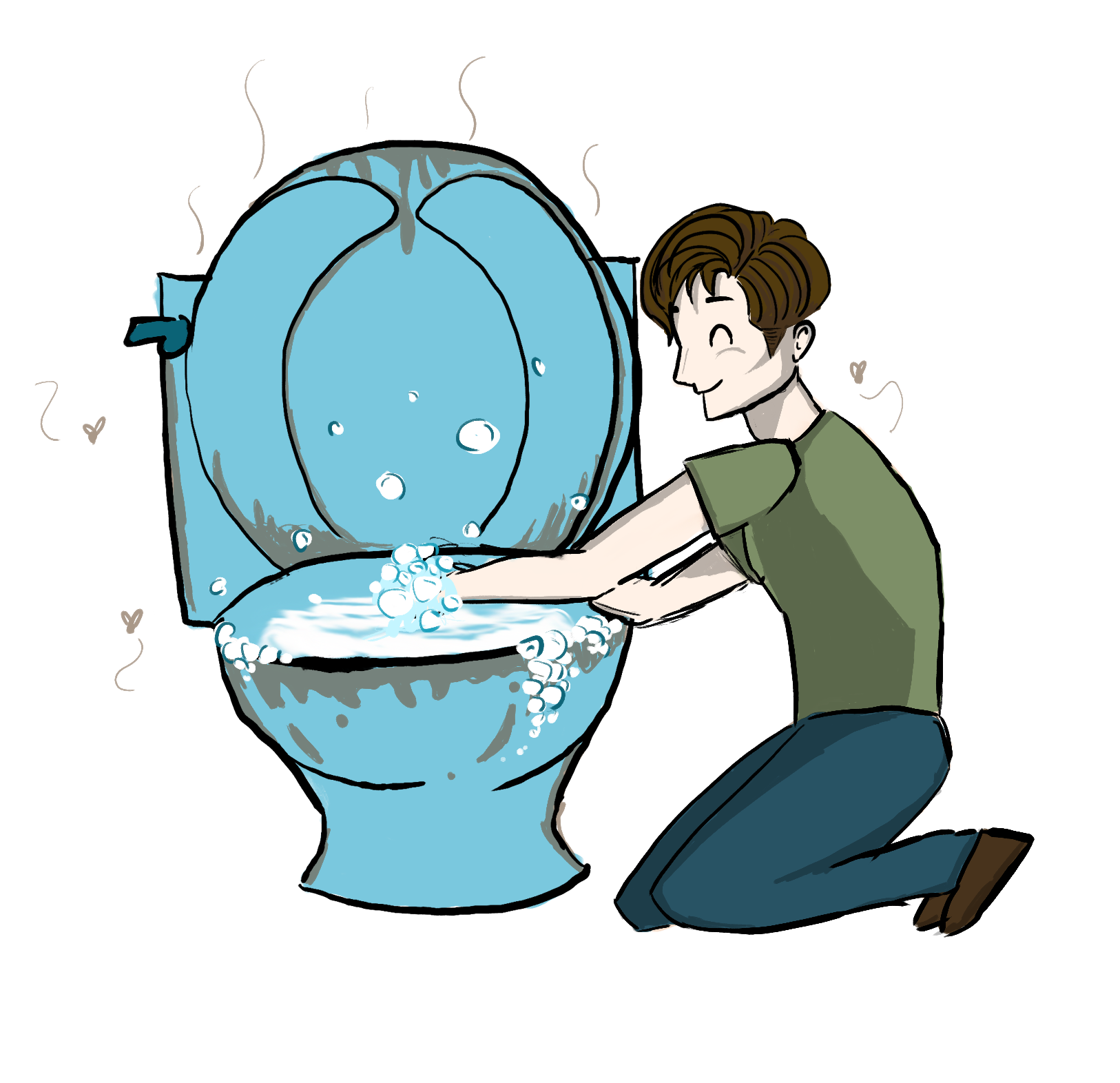 graphic freeuse library What boys do in. Wash clipart dirty hand