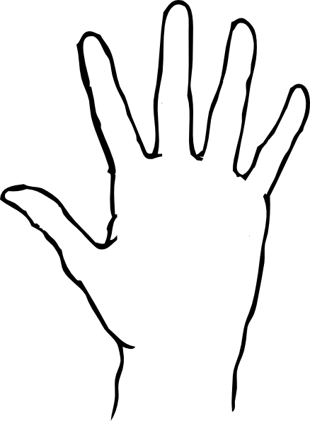 banner black and white library Wash clipart hand template. Yr final piece ideas