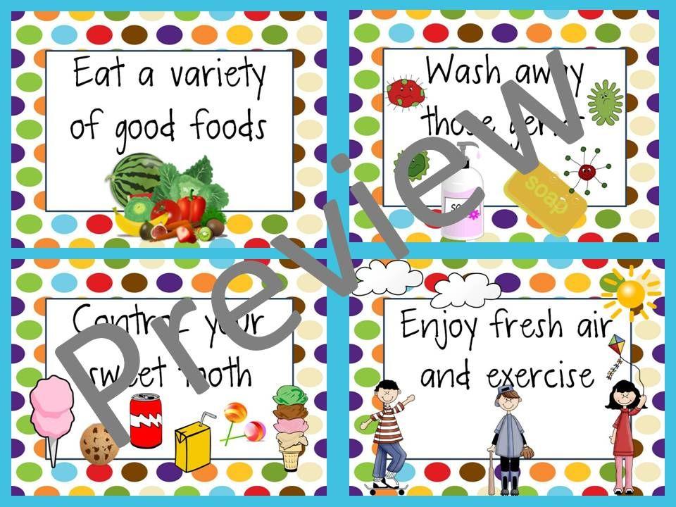 clip art transparent download Habits posters st grade. Wash clipart healthy eating habit