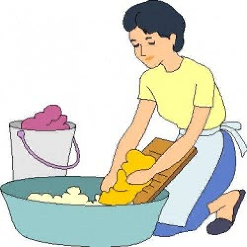 jpg transparent library Wash clipart uses water. Of for washing clothes