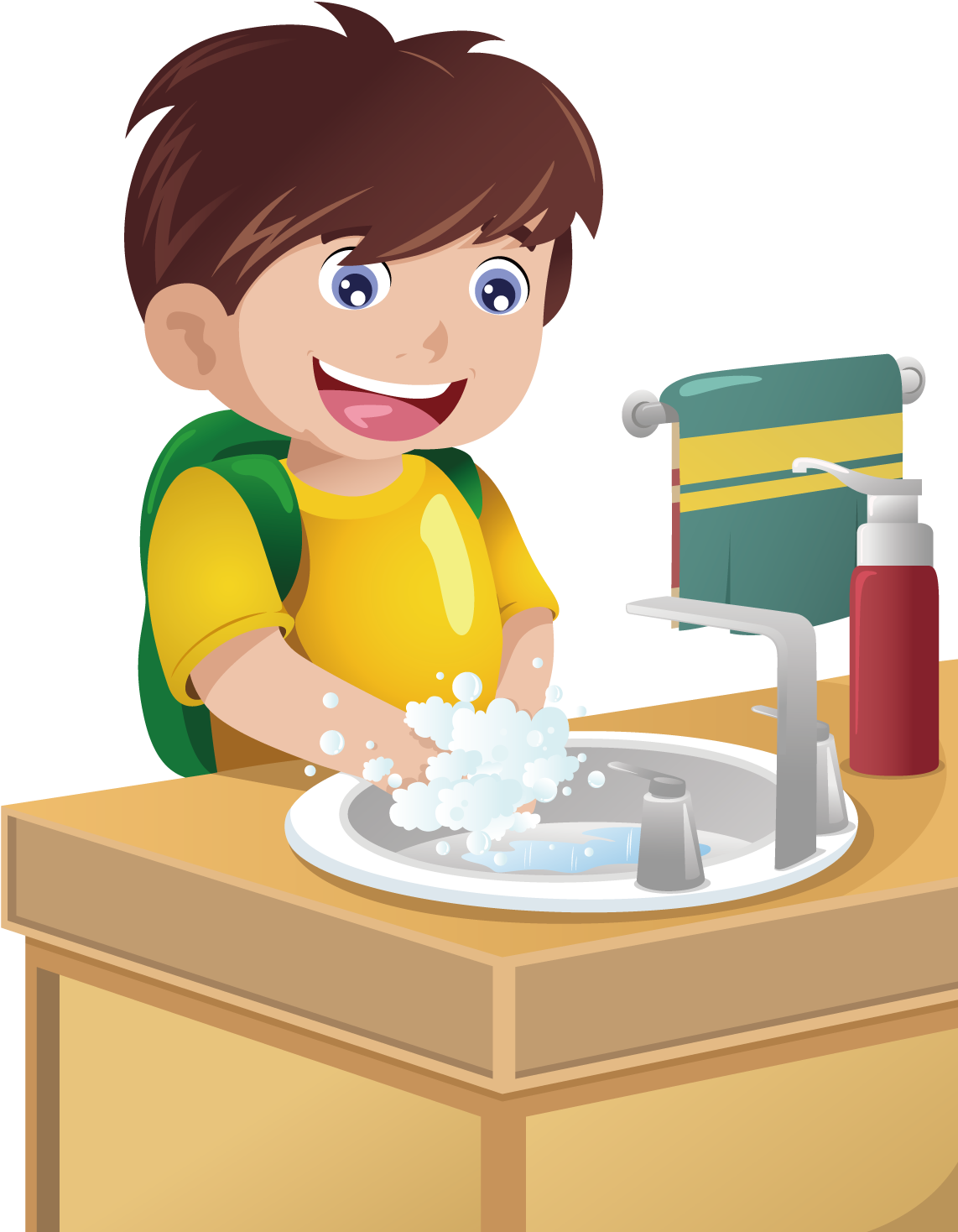 image free stock  x boy his. Wash clipart washing area