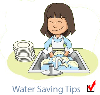 jpg black and white library Wash clipart water usage. Of