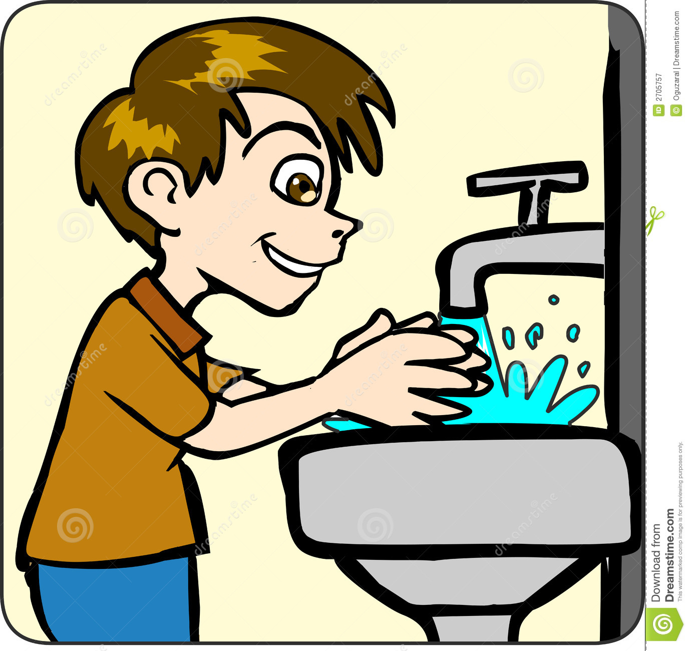 picture black and white Washing clipart.  hand clipartlook