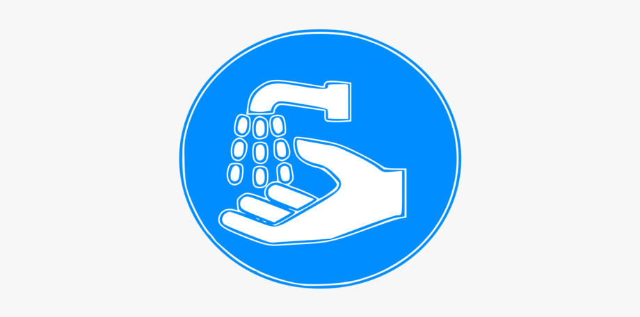 vector black and white stock Hand hygiene employees must. Washing clipart cleanliness