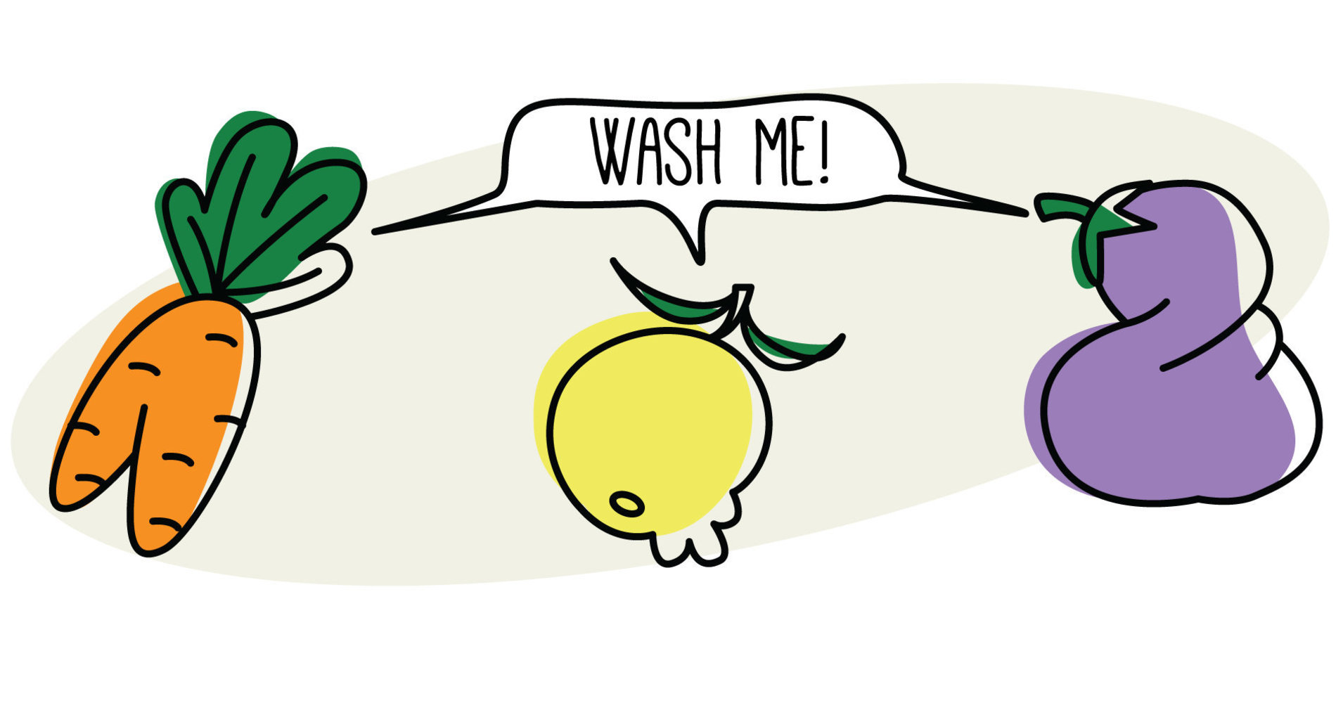 banner stock Fruits and vegetables portal. Washing clipart fruit
