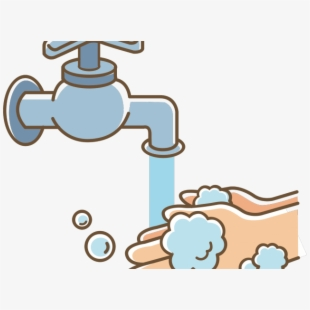 banner royalty free download Tap hand cartoon wash. Washing clipart hygiene