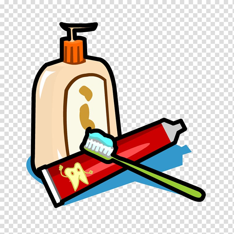 vector royalty free library Hand personal care kit. Washing clipart hygiene