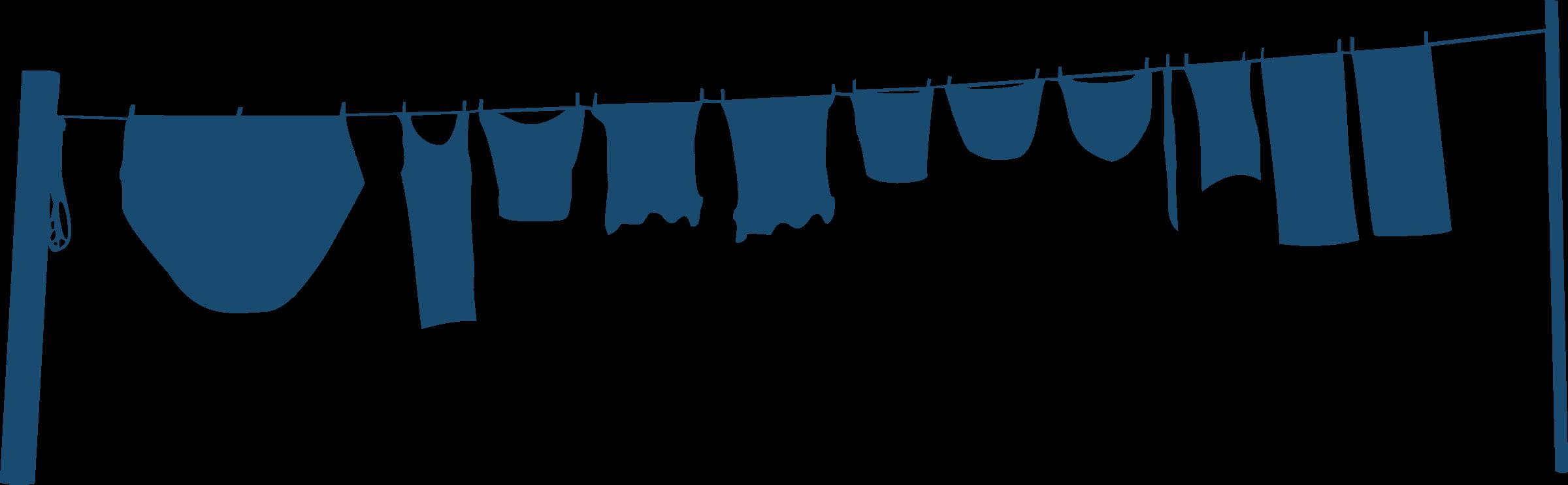 transparent download Washing clipart shirt. Clothes line big image