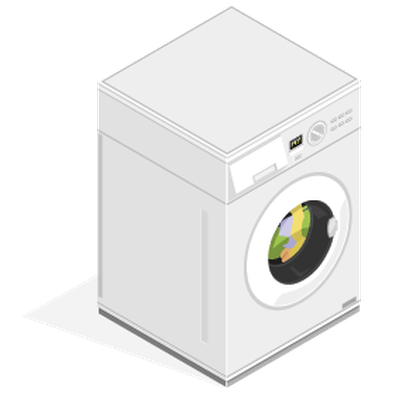 free library Isometric appliance the arts. Washing machine clipart
