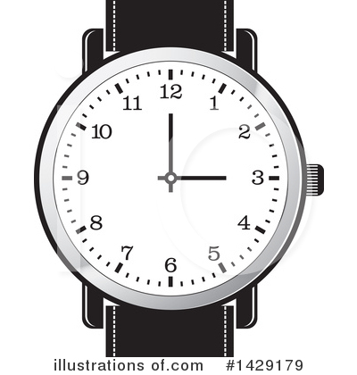 jpg library stock Watch clipart. Illustration by lal perera.