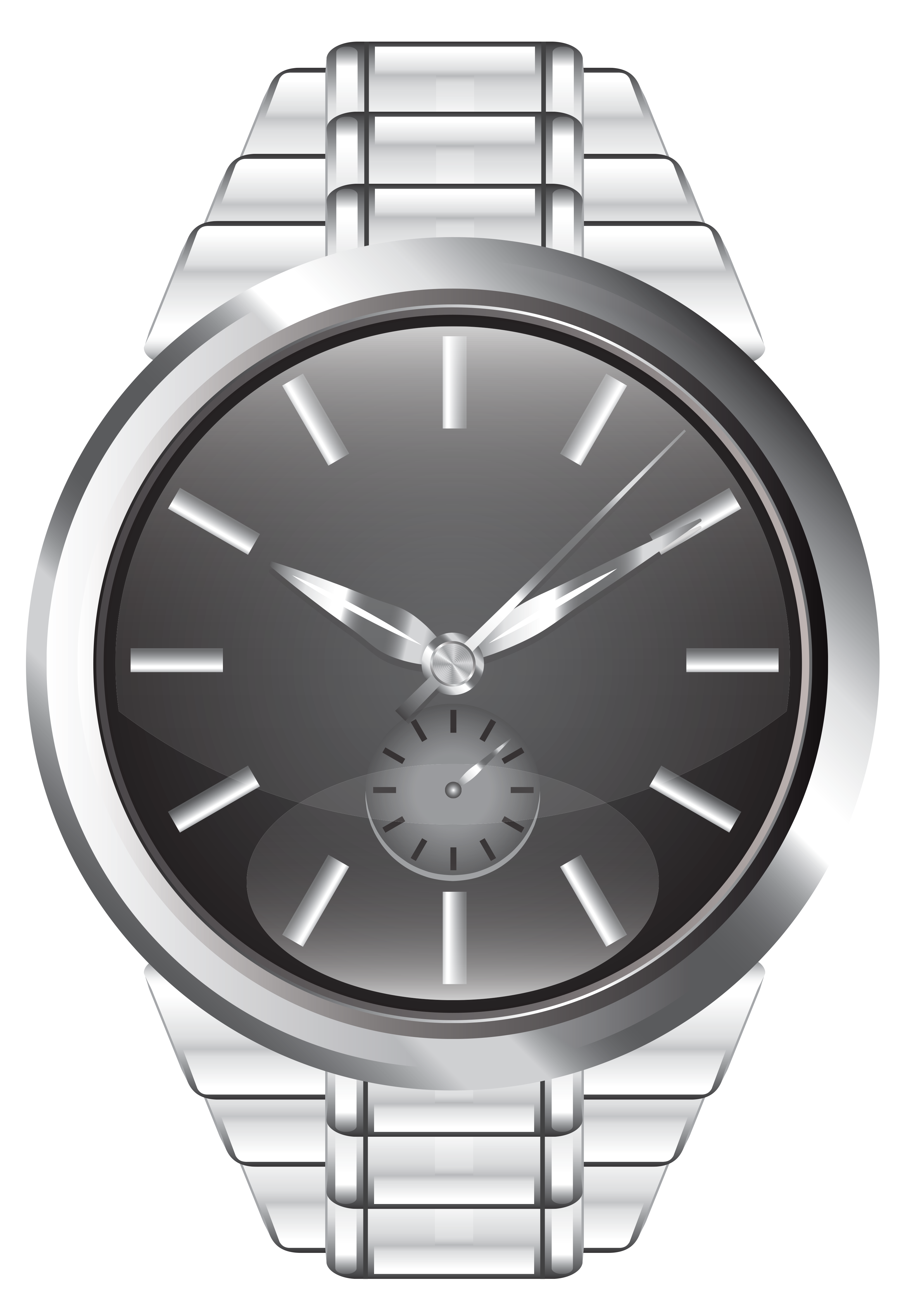 png black and white download Watch clipart. Wrist png clip art.