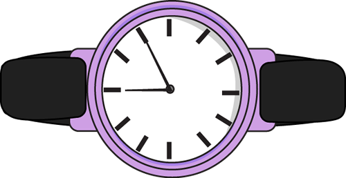 clip art royalty free Watch purple . Watching clipart simple