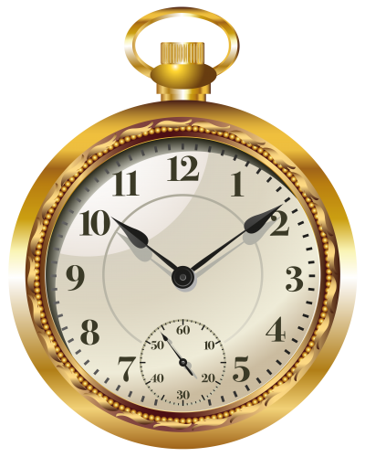 royalty free library Pocket Watch Clock PNG Clip Art