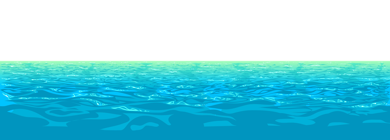 banner transparent Beach transparent ocean. Summer water clipart search