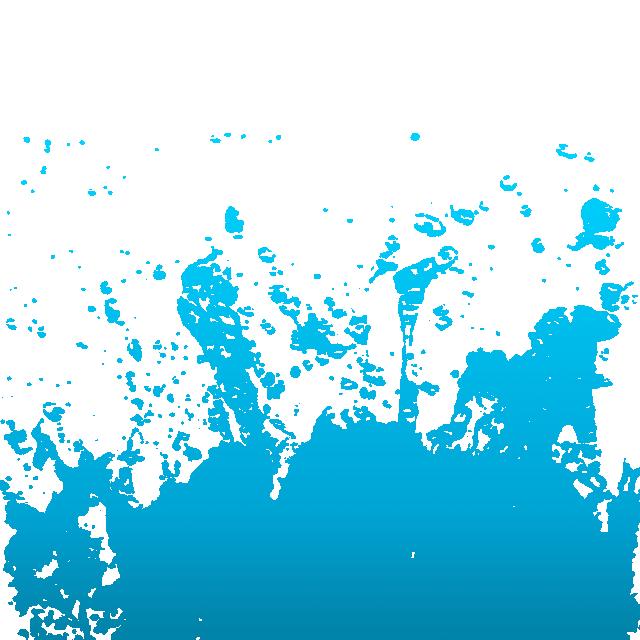 graphic transparent download Blue Water Splash Clipart