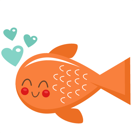 vector freeuse download Valentine Fish SVG scrapbook cut file cute clipart files for