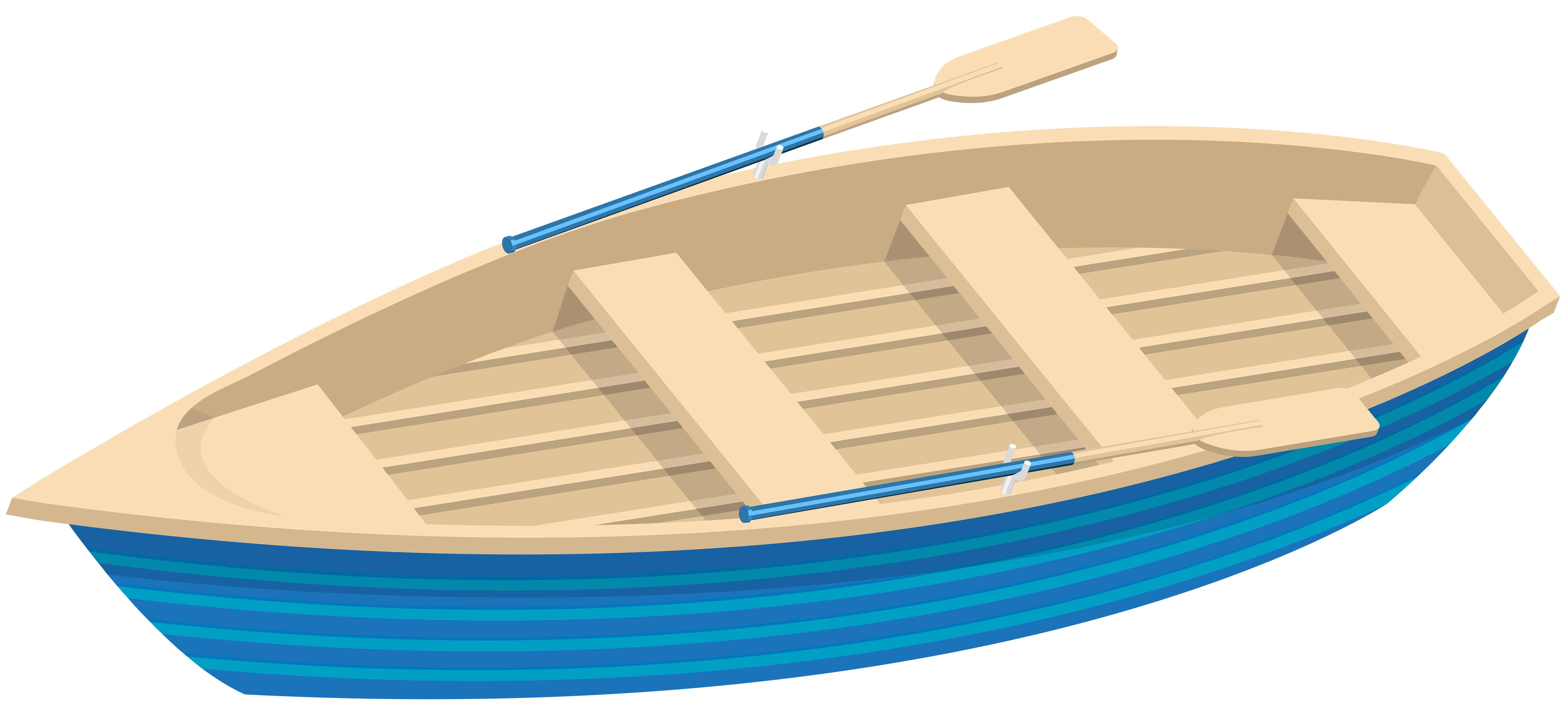 image library Blue Boat Transparent Clip Art Image
