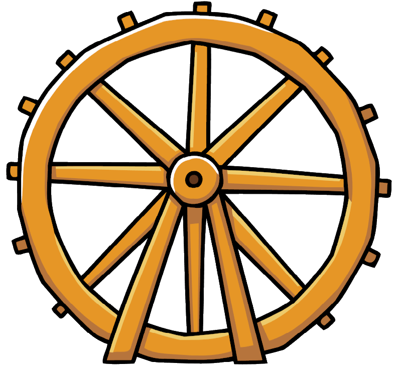 png freeuse library Water wheel clipart. Rim free on dumielauxepices.