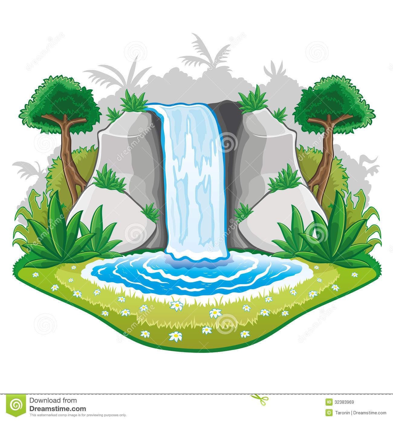 svg download Waterfall clipart. Pictures of waterfalls cartoon