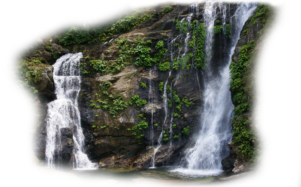 png black and white library Waterfall PNG HD Transparent Waterfall HD