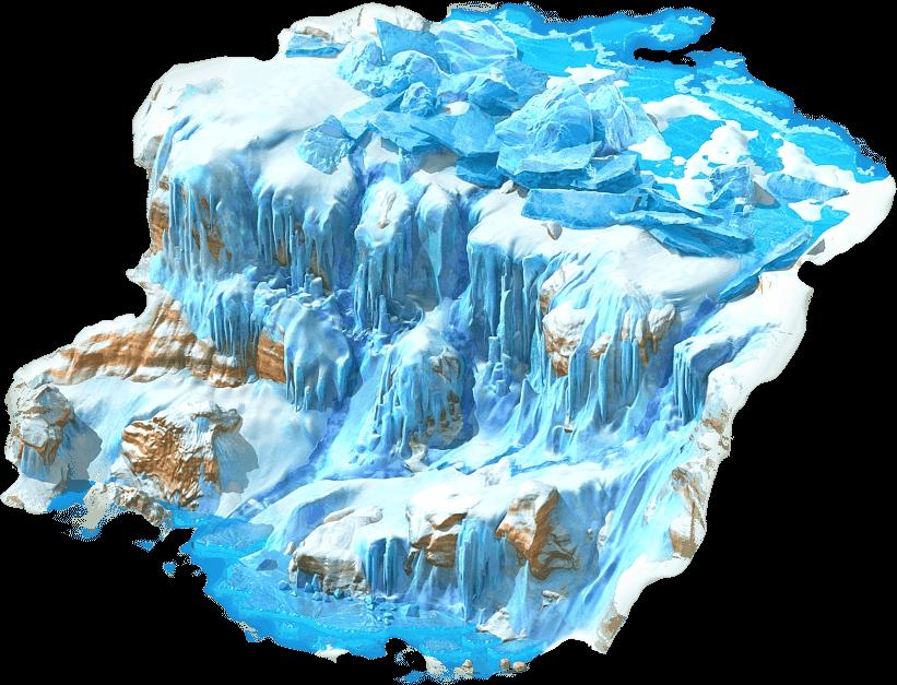 image transparent download waterfall transparent frozen #118797938