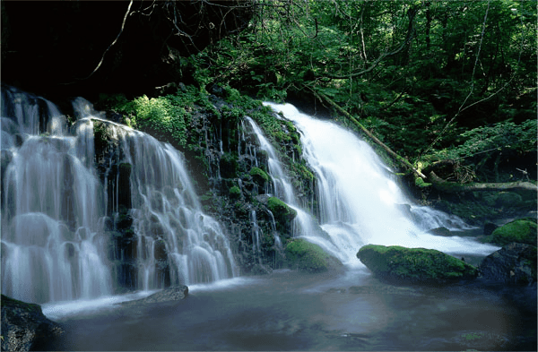 banner transparent library Moving Waterfall Pictures With Sound Nature Spirit Inc Waterfall