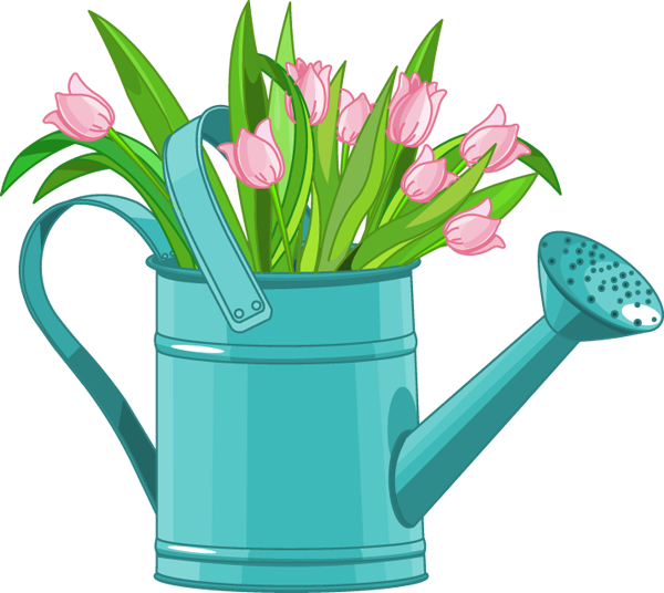 png royalty free download Flowers can . Watering clipart