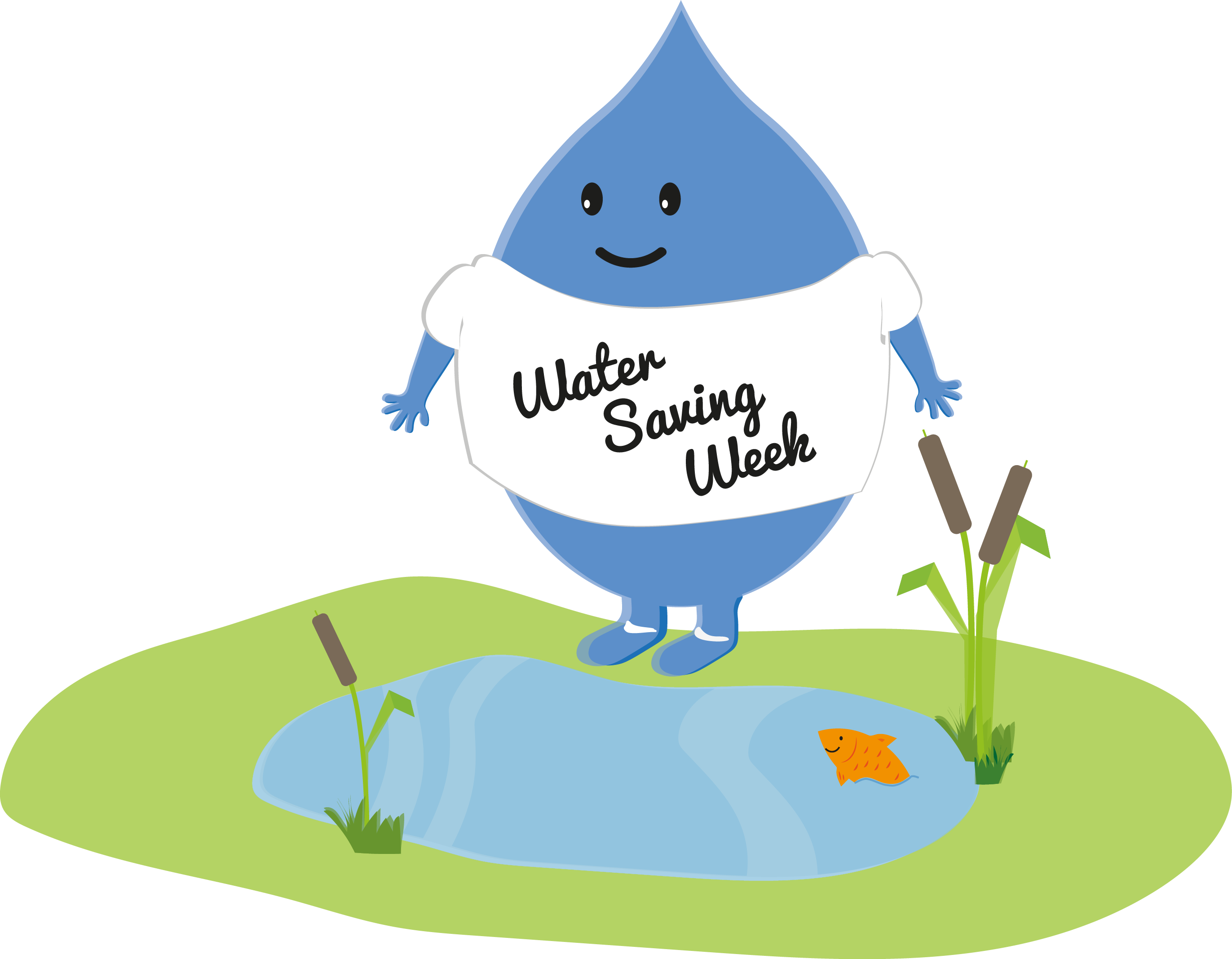 vector library library Watering clipart ditch. Water saving week work