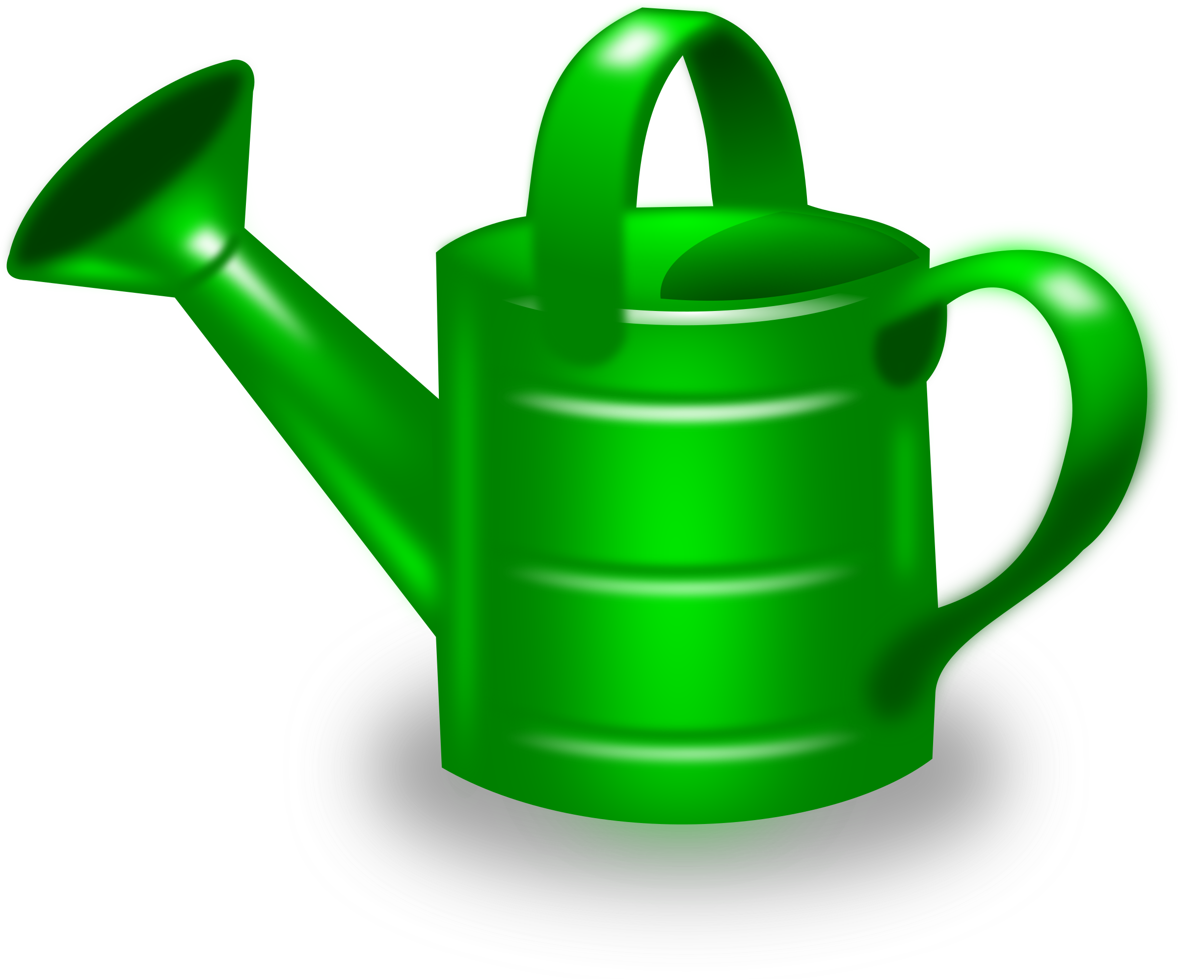 clipart library library Watering can