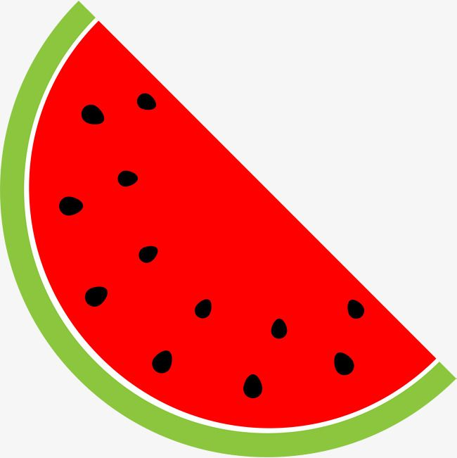 vector free library Watermelon clipart. Cartoon red