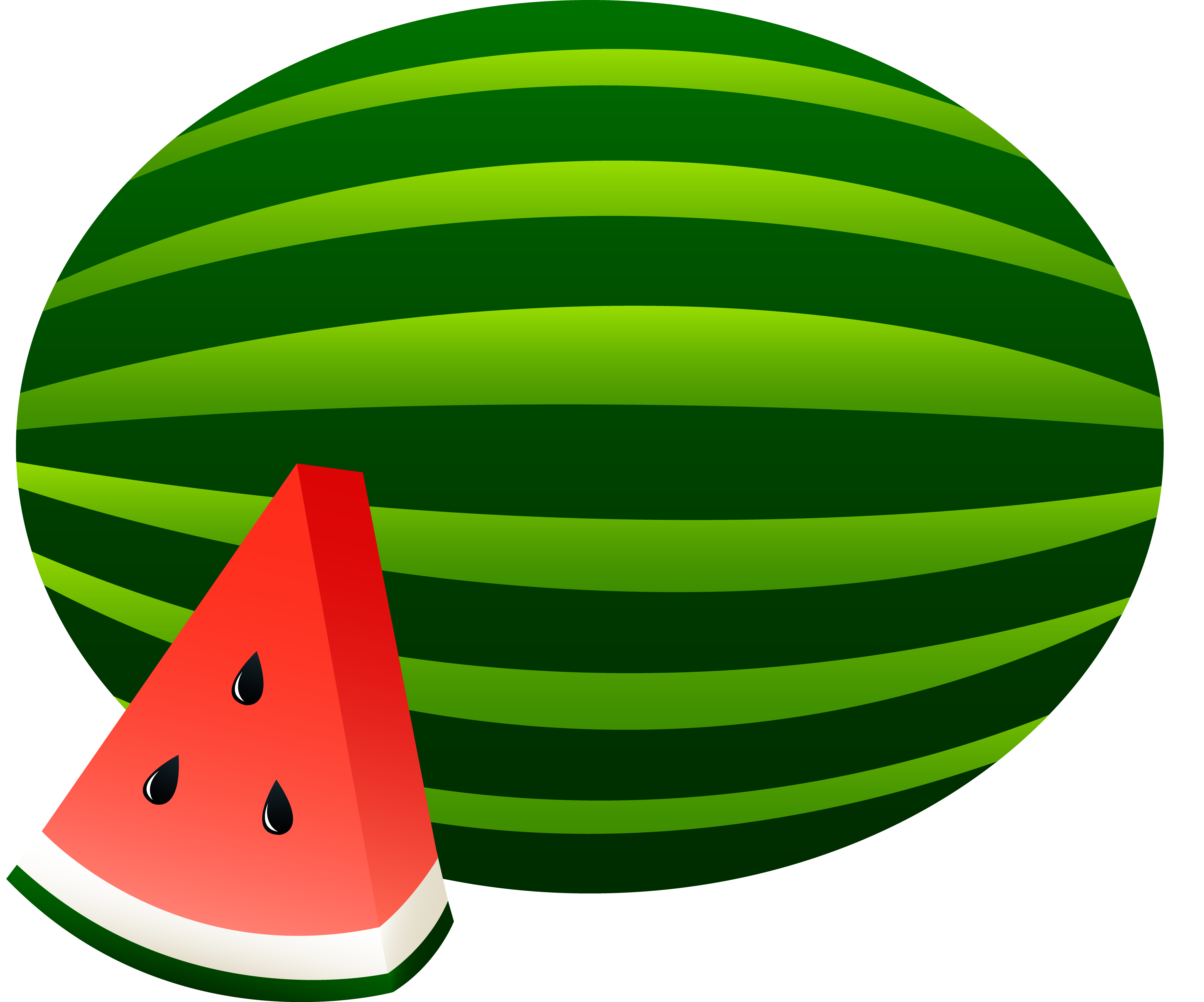 vector royalty free library Watermelon clipart. Panda free images