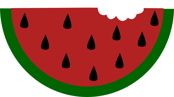 png royalty free stock Watermelon with clip art. Bite vector