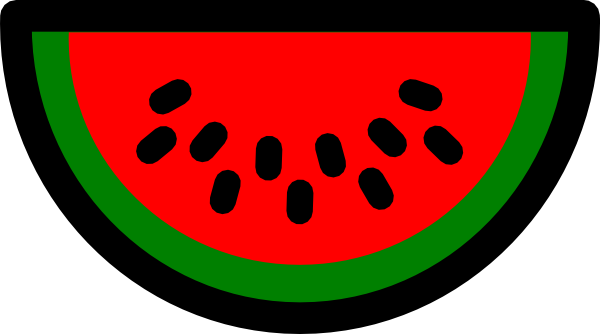 clipart stock Watermelon Seed Clipart