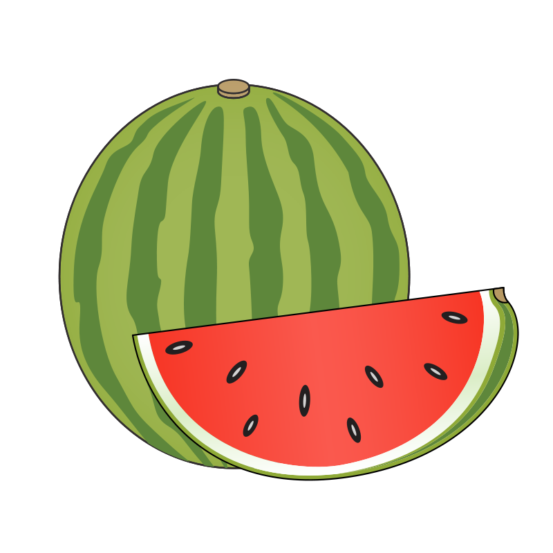 clip Collection of free Imagoes clipart watermelon