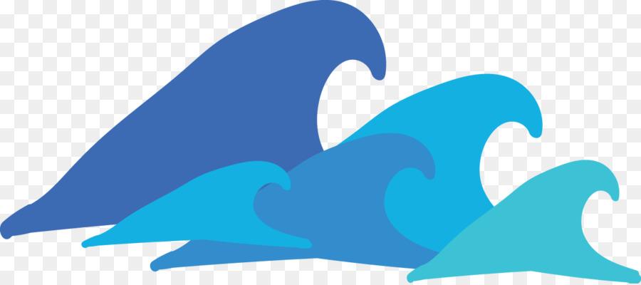 svg download Wave clipart. Dolphin cartoon sky transparent
