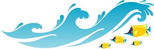 jpg royalty free library Free wave cliparts download. Waves clipart.