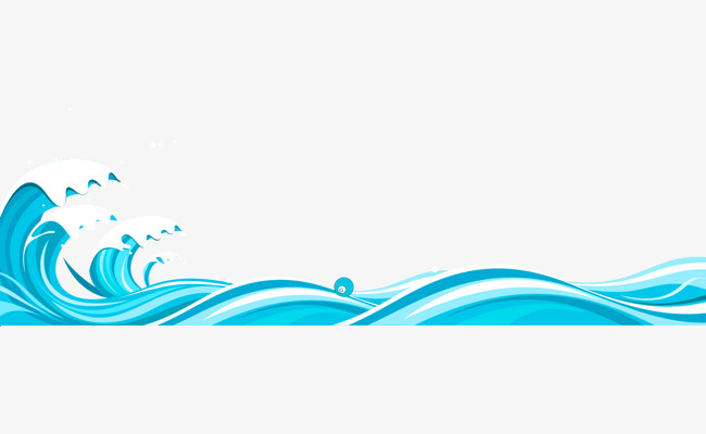 vector library library Station . Waves clipart border