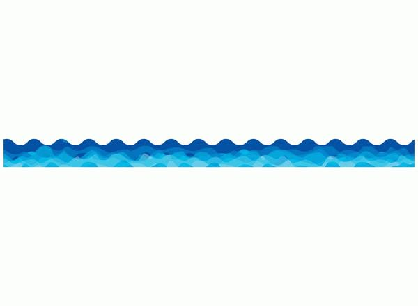 svg black and white Waves clipart border. Free wave cliparts download