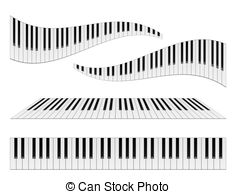 clip art transparent library Station . Wavy piano keyboard clipart