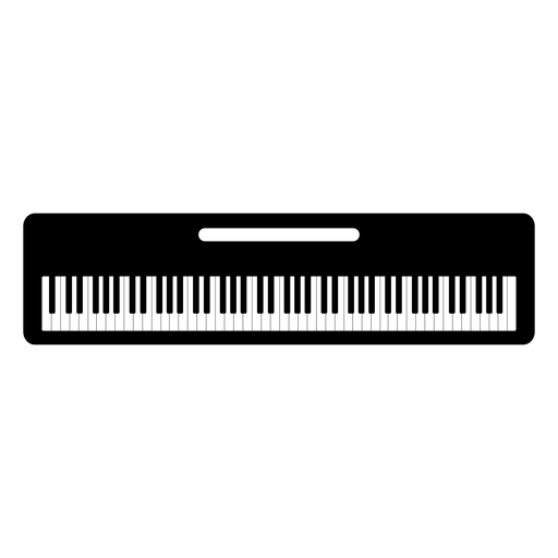 graphic Silhouette at getdrawings com. Wavy piano keyboard clipart