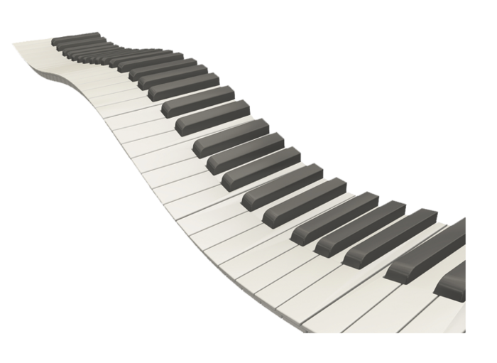 picture Wavy piano keys clipart. Png images transparent free