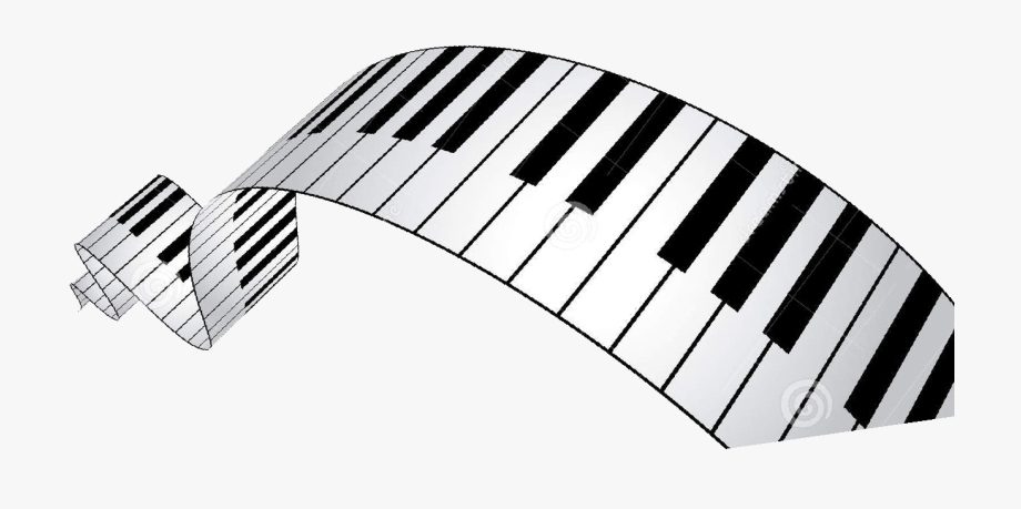 graphic library stock Wavy piano keys clipart. Transparent cartoon free cliparts.