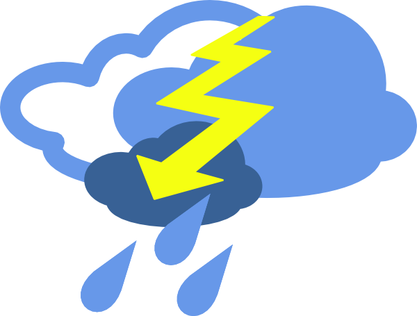 picture library library thunderstorm clipart thunder storm #84858942
