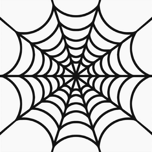 transparent stock Halloween spider web clipart. This is best clip