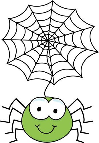 vector royalty free library Spider Clip Art