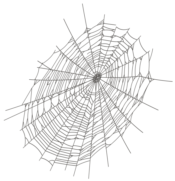 clip art black and white library Spider web clipart transparent. Halloween large png gallery