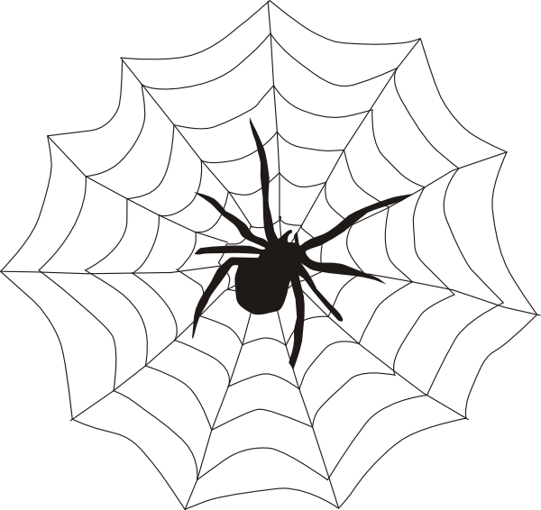 vector freeuse stock Spider web clipart images. And clip art panda